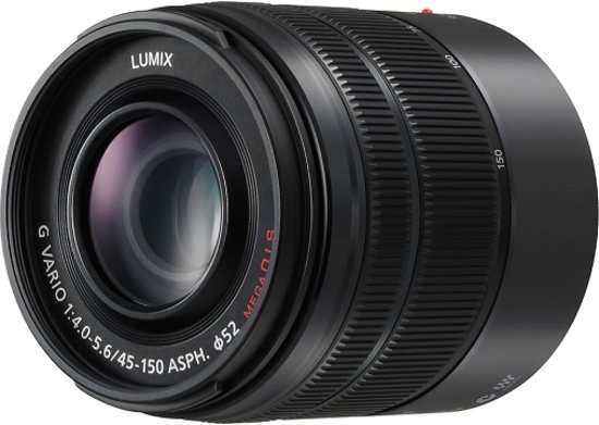 Panasonic Lumix G Vario 45-150mm f/4.0-5.6 ASPH. MEGA Zwart