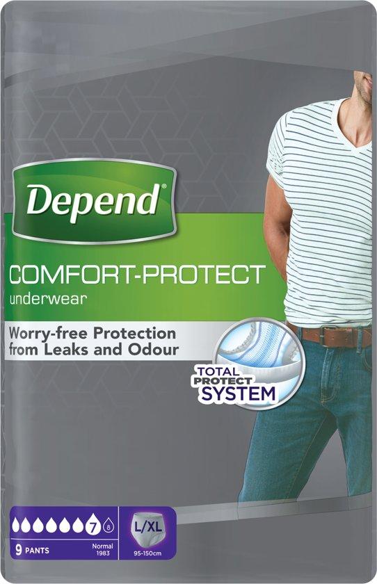 68d735f42d5 Depend Pants L/XL Incontinentie - 9 stuks - Incontinentiebroekjes