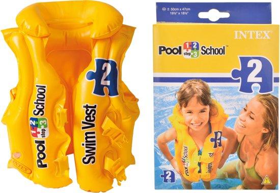Intex zwemvest kind 3 tot 6 jaar
