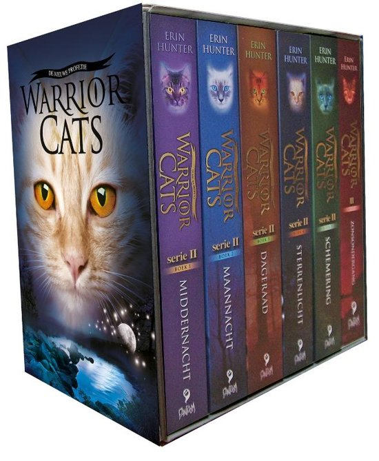 Warriors Book Series Review: Warrior Cats Serie 2 Boxset, Erin Hunter