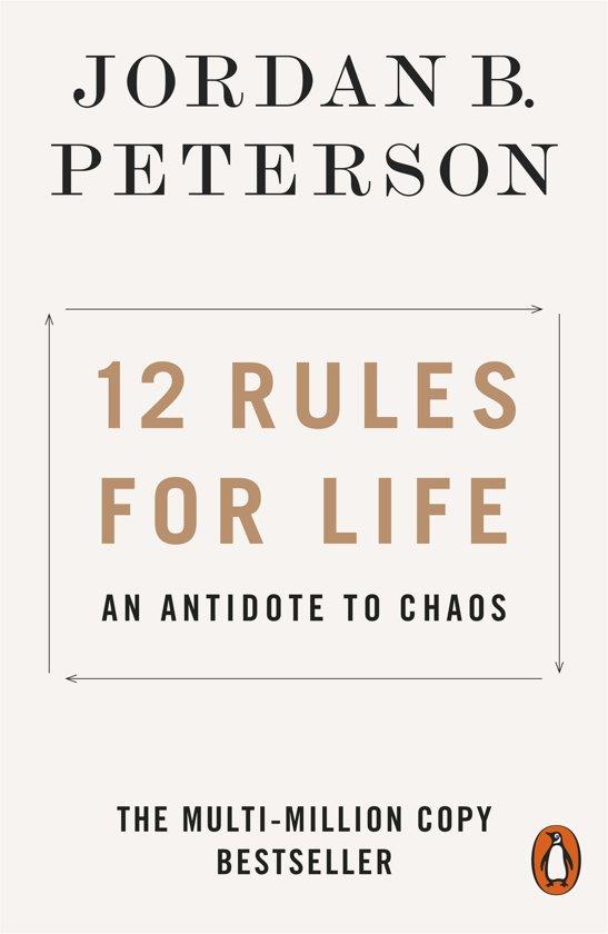 Boek cover 12 rules for life van Jordan Peterson (Paperback)
