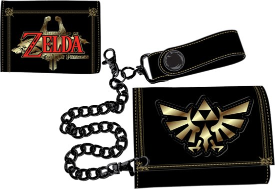 095c37c7a3e bol.com | Nintendo - Zelda Leather Trifold Chain Wallet