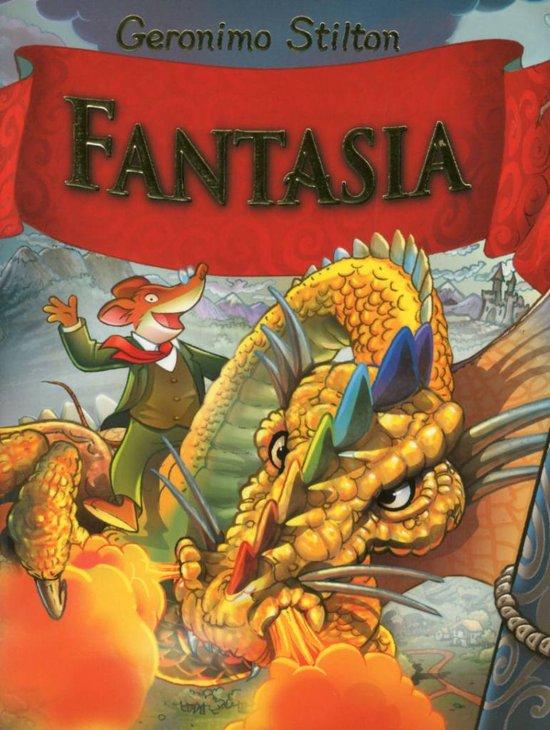Boek cover Fantasia 1 van Geronimo Stilton (Hardcover)