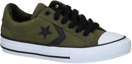 Converse Sp Ox Sneaker laag sportief Jongens Maat 30 Groen;Groene Herbalwhiteblack