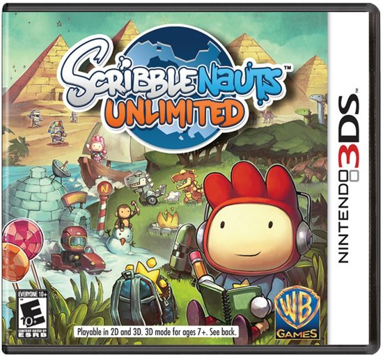 Scribblenauts Unlimited - 2DS + 3DS
