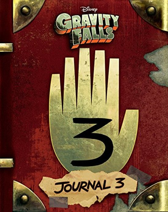 Boek cover Gravity falls: journal 3 van Rob Renzetti (Hardcover)