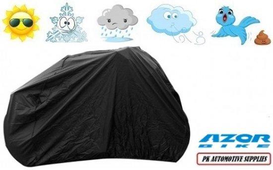 Fietshoes Zwart Polyester Azor Pick-Up Alu Deluxe N7 Dames Parallel