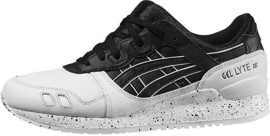 37 wit 5 Iii Zwart Lyte Gel Heren Sneakers Asics Maat wq48RWFq