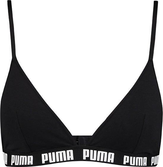 Puma - Dames Triangle Bralette Zwart - M