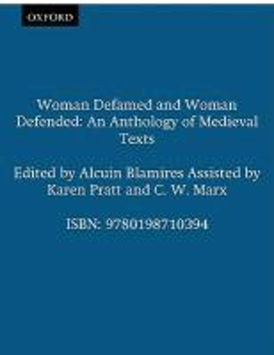 Woman Defamed and Woman Defended