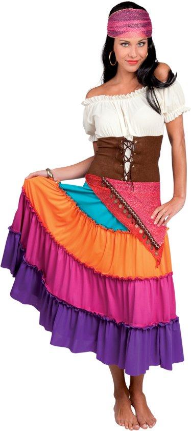 Mooie Carnavalskleding Dames.Bol Com Zigeunerkostuum Voor Vrouwen Verkleedkleding Medium