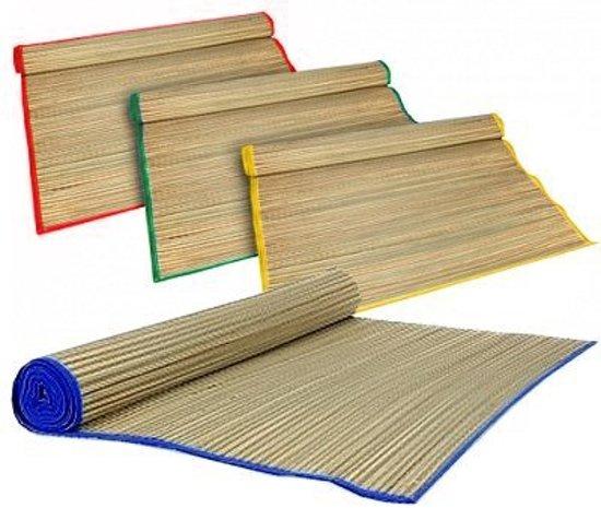 Rieten Strandmat - Oprolbare Rietmat - Ligmat Voor Buiten - 60x180cm
