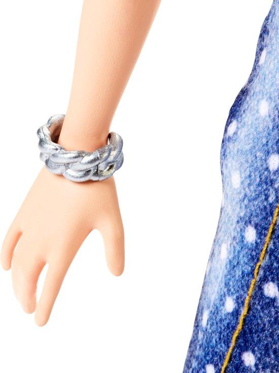 Barbie Fashionistas Tall Met Groene Hanenkam - Barbiepop
