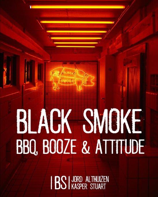 Boek cover Black Smoke van Jord Althuizen (Hardcover)