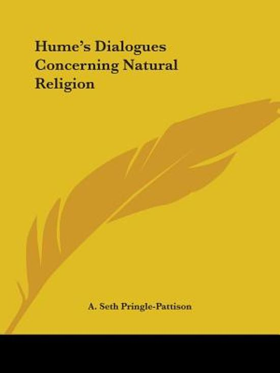 an introduction to humes dialogues concerning natural religion Routledge philosophy guidebook to hume's thinking in the dialogues concerning natural religion hume on religion dialogues introduction 4.