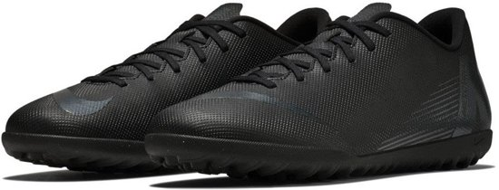 Nike Mercurial VaporX 12 Club TF  Sportschoenen - Maat 44 - Mannen - zwart/donker grijs