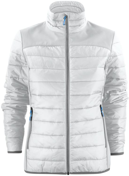 Jacket Printer Lady Quilted L 2261058 Expedition Maat Wit 4qR5pRx