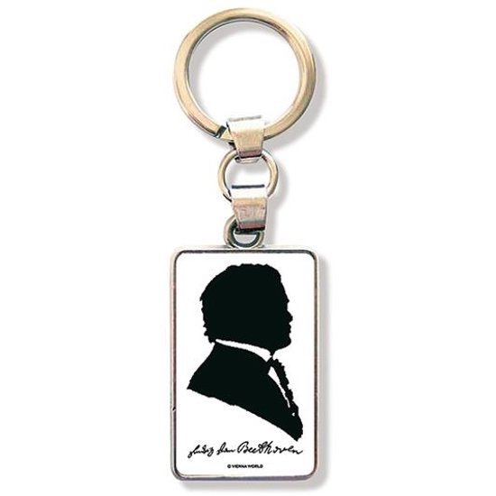 Keyring Beethoven Silhouette