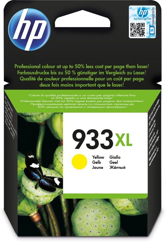HP 933XL - Inktcartridge / Geel / Hoge Capaciteit