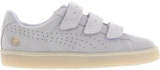 Chaussures De Sport X Pumas De Taille De Sangle Panier Careaux Hommes Bleus 40,5