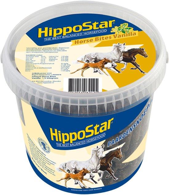 Hippostar Horse Bites Vanilla - Paardensnoepjes - 1.5 Kg