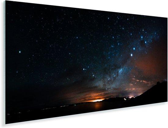 Boliviaanse sterrennacht boven Isla del Sol Plexiglas 160x80 cm - Foto print op Glas (Plexiglas wanddecoratie)