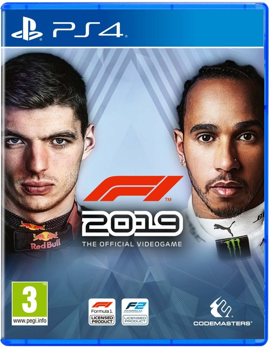 Cover van de game F1 2019 Anniversary Edition - PS4