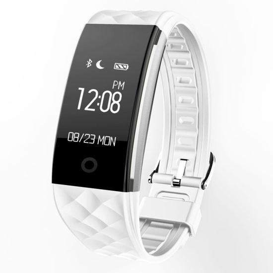 OPTIBLE-Activity tracker- wit - hartslagmeter - Calorieteller - Stappenteller |-Hardloop horloge - Slaapmonitor