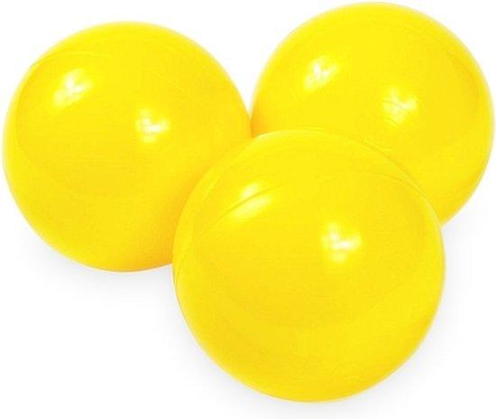 Ballenbak ballen geel (70mm) voor ballenbak 300 stuks