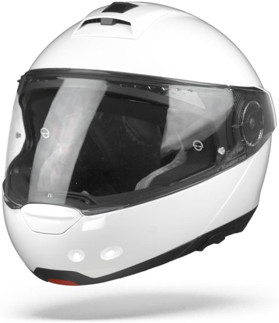 SCHUBERTH C4 PRO WIT SYSTEEMHELM S