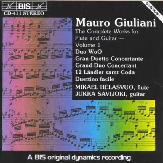Complete Works For Flute And Guitar -Mikael Helasvuo, Flute; Jukka Savi