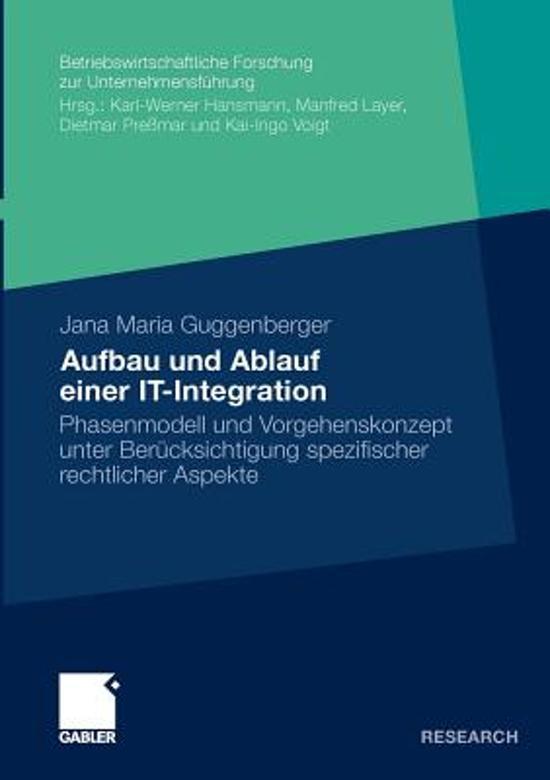 Aufbau Und Ablauf Einer It-Integration