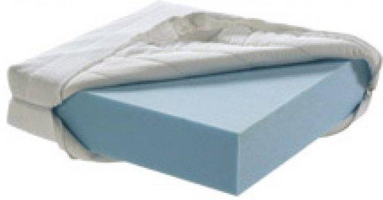 Boxmatras - Parkmatras met wasbare hoes - 95 x 75 cm