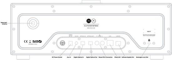 Revo SuperSystem Stereo - Internetradio met Bluetooth