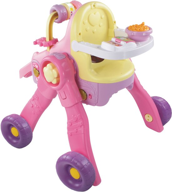 VTech Little Love 3 in 1 Poppenwagen - Poppenwagen