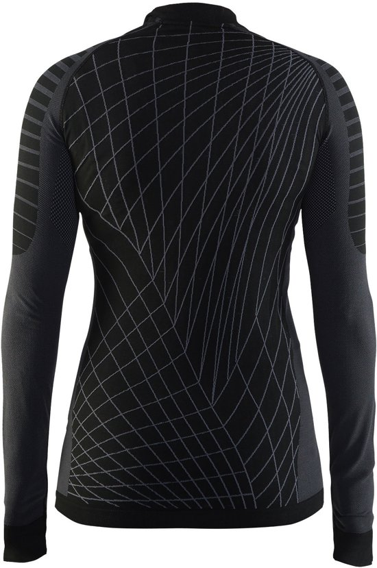 W Black 1905333 Craft Xl Ls Cn granite Sportshirt Active Maat Dames Intensity xXAA0I4