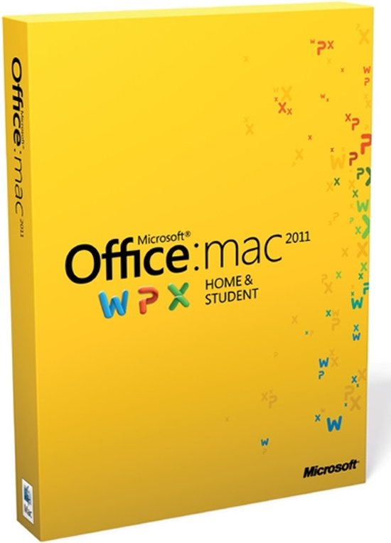 Microsoft Office Mac Home and Student 2011 - Nederlands / 1 Licentie