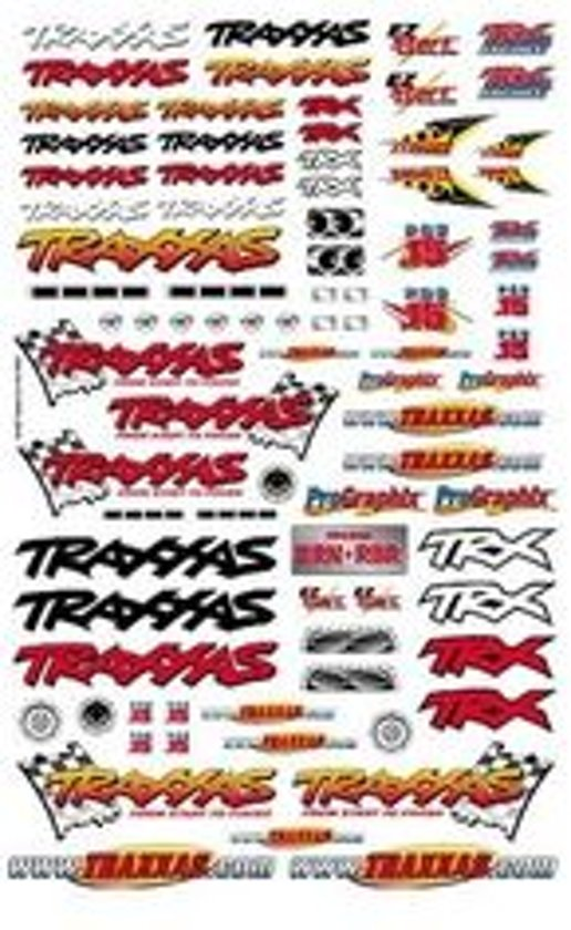 Official Traxxas Decals (6-Col