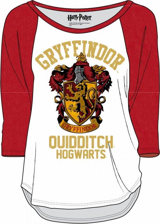 Harry Potter - Slytherin Long Sleeve Women T-Shirt - White - XXL