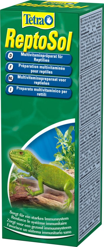 Tetra reptosol vitamine - 50 ml