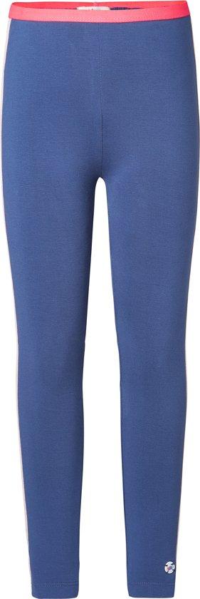 NOP Meisjes Legging - blauw -  Maat 104