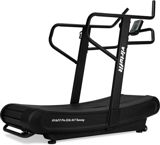 Loopband - VirtuFit Pro Elite HiiT Running - Fitness - High Intensity Interval Training - Zwart
