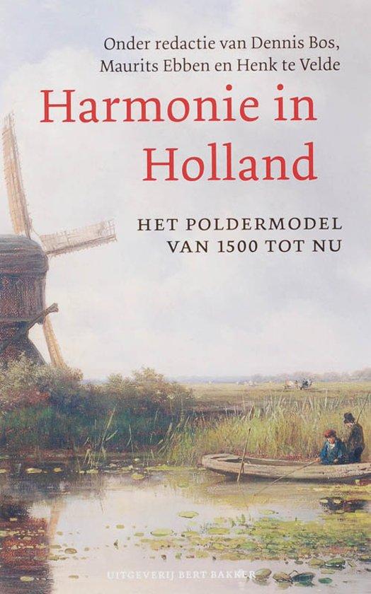 Cover van het boek 'Harmonie in Holland ?' van M. Ebben en Henk te Velde
