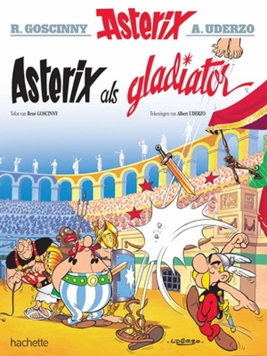 Boek cover Asterix 04. Asterix als gladiator van Albert Uderzo (Paperback)