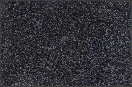 Deurmat katoen zwart ecologisch - 88 x 148 cm