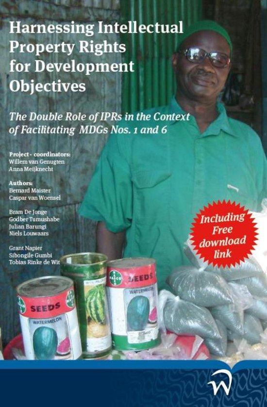 Cover van het boek 'Harnessing intellectual property rights for development objectives' van Bernard Maister