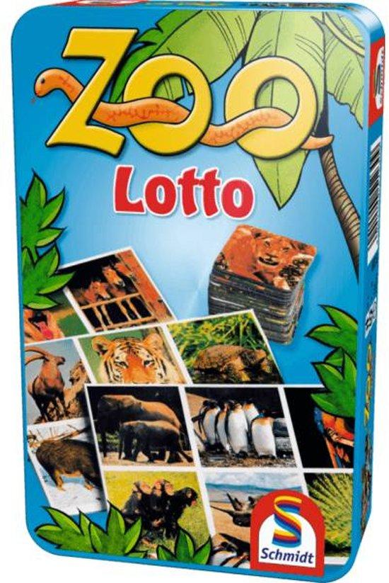 Afbeelding van het spel Zoo Lotto In Tin Box Pocketedie