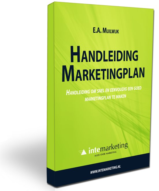 Handleiding Marketingplan