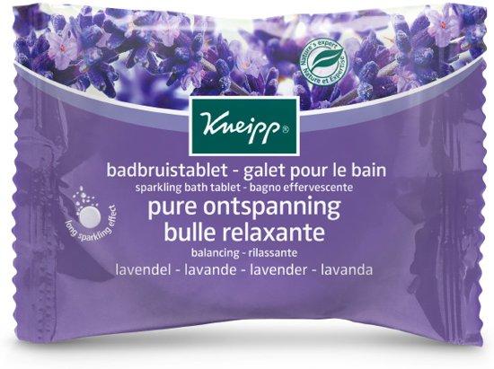 Kneipp Lavendel Badbruistablet - 1 stuks
