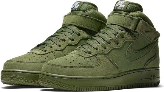 nike air force 1 olijfgroen